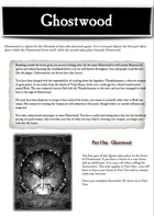 Chronicles of Arax - Ghostwood