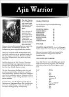 Chronicles of Arax - Ajin Warrior