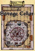 Inked Adventures: Savage Cellar Floor Plan Tile