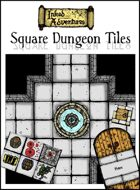 Inked Adventures Square Dungeon Tiles