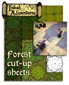 Forest Cut-Up Sheets (Inked Adventures)