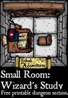 Inked Adventures Small Room Wizards Study