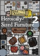 Inked Adventures Heroically Sized Furniture Counters 2