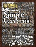 Simple Caverns Cut-Up Sheets