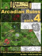 Inked Adventures Arcadian Ruins Pack 4