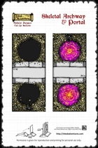 Inked Adventures: Skeletal Archway & Portal
