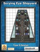 """Type S Seeker Independent Mining Ship """"Free Fall Lady"""""""