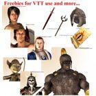 Art Pack Freebie 1: Virtual Table Top Icons