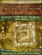 One Dollar Dungeon: Ranger\'s Camp near the Ruins Map Pack