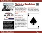 Modern Dispatch (#95): The Deck of Many Actions