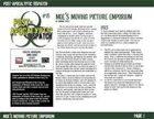 Post-Apocalyptic Dispatch (#15): Moe's Moving Picture Emporium