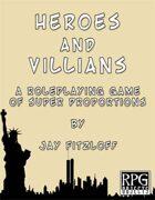 Heroes & Villains or YADSRPG