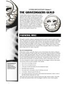 Cities of Fantasy 1: The Gravediggers' Guild