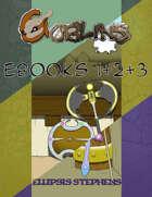 Goblins, The First EBook Bundle (Books 1+2+3) [BUNDLE]