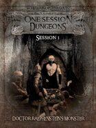 1 Session Dungeons #3 - Doctor Raephenstein's Monster
