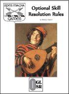 Optional Skill Resolution Rules