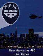 Ninja Burger: The RPG 2nd Edition