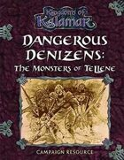 Dangerous Denizens: The Monsters of Tellene