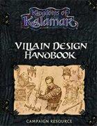 Villain Design handbook