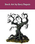 Stock Art: Evil Tree
