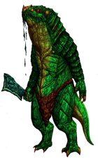 Stock Art: Savage Lizardfolk