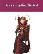 Stock Art: Female Elf Diabolist