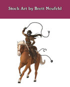 Stock Art: Female Hobgoblin Cavalier