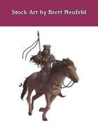 Stock Art: Female Hobgoblin Cavalier II