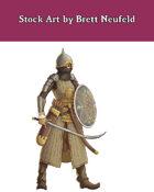 Stock Art: Female Zendiqi Defender