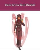 Stock Art: Female Human Medium