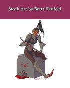 Stock Art: Female Xeph Warrior