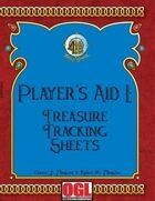 Player's Aid I: Treasure Tracking Sheets