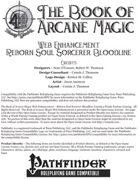 [PFRPG] The Book of Arcane Magic Web Enhancement - Reborn Soul Sorcerer Bloodline