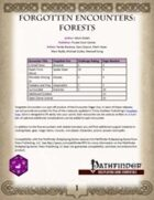 Forgotten Encounters: Forests [PFRPG]