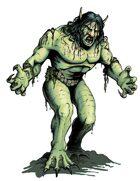 Bestiary II Stock Art: Merrow (Aquatic Ogre)