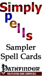 Pathfinder Sampler of Spell Cards
