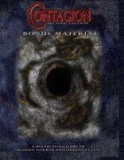 Contagion Second Edition Bonus