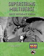 Superstring Multiverse Quick Reference Screen