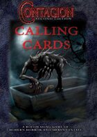 Contagion Second Edition Calling Cards