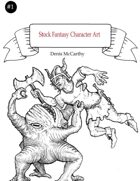 Stock Fantasy Character Art 1