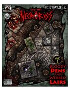 Into the Necrobyss Map Tiles 1: Bloody Dens and Webbed Lairs
