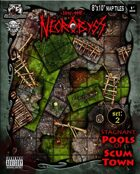 Into the Necrobyss Map Tiles 2: Stagnant Pools of Scum Town