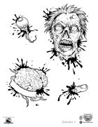 Stinky Goblin Stock Art: Zombie 1