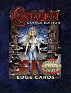 Contagion Savage Edition Edge Cards