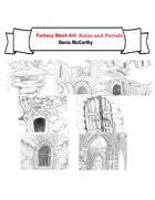 Fantasy Stock Art: Ruins and Portals