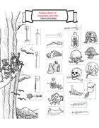 Fantasy Stock Art: Marginalia and Filler