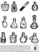 Stinky Goblin Stock Art: Potions