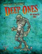 Hideous Creatures: Deep Ones