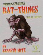 Hideous Creatures: Rat-Things