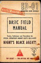 The Dracula Dossier: The Edom Field Manual